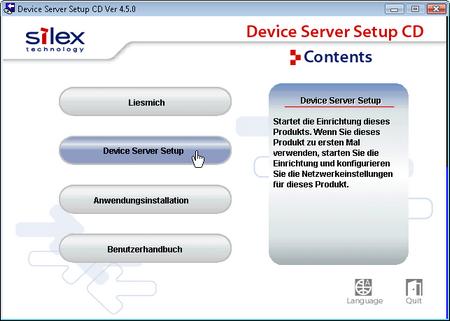 device server setup