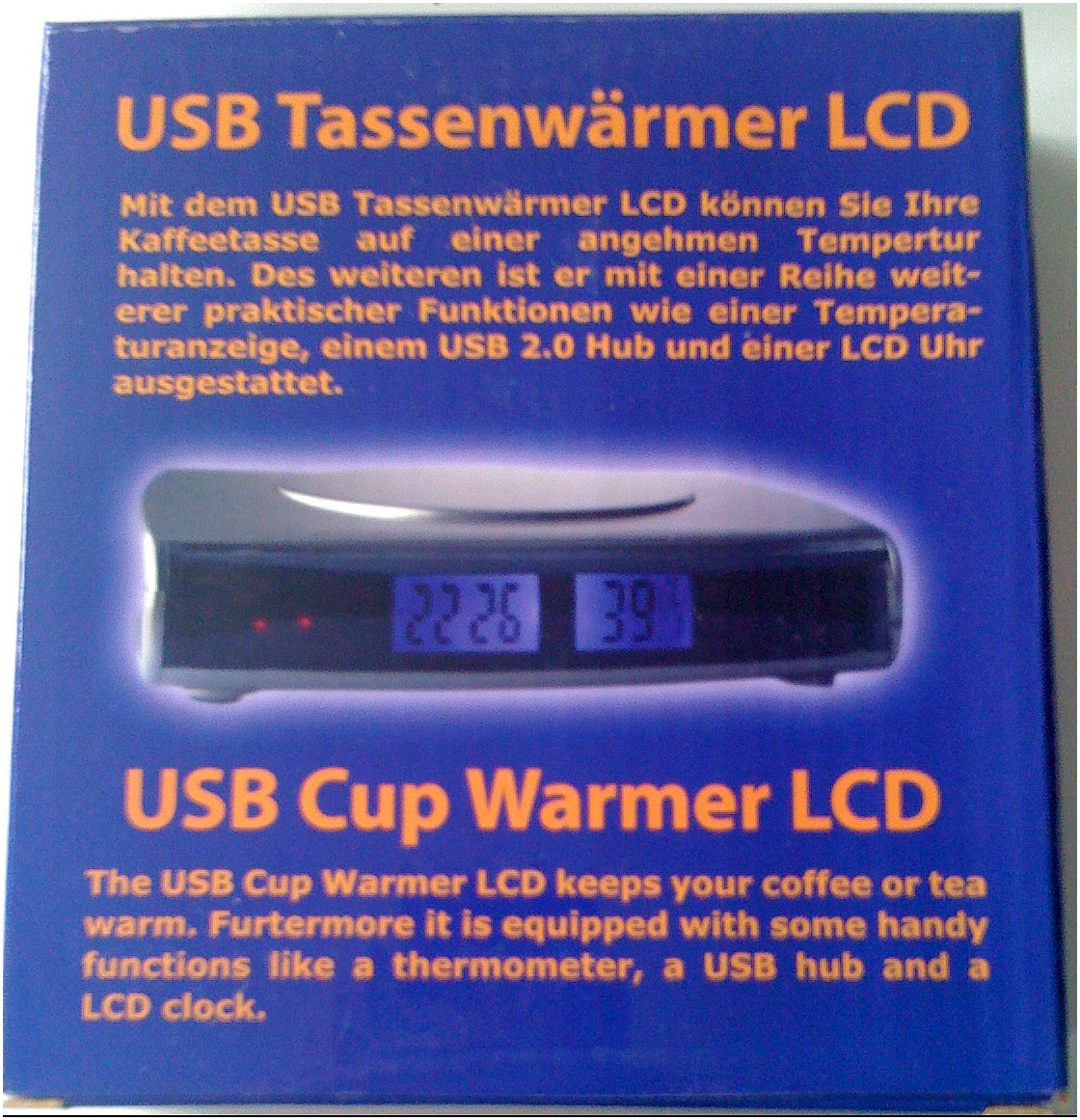 USB Tassenwarmer