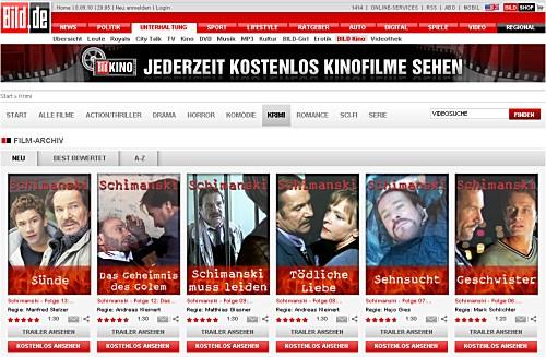 Bild Kino - jederzeit kostenlos Kinofilme sehen