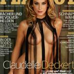 nackte Claudelle Deckert im Playboy
